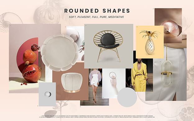 Rounded Shapes Midcentury